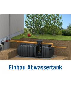 Abwasser-Flachtank 5000 Liter