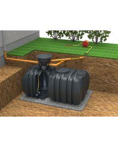 Flachtank Rückhaltebehälter zur Kanalentlastung