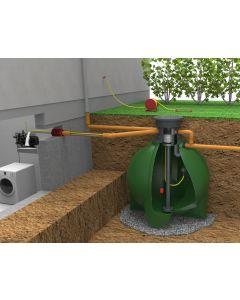 GEOplast Regenwassertank / Komplettset für Haus & Garten