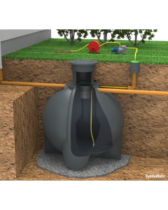 GEOplast - Regenwassertank NEMO auch als Komplettset von 4100 bis 6100 Liter