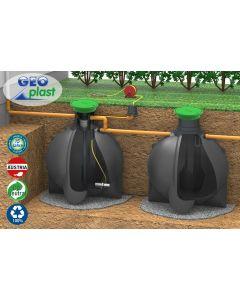 Regenwassertank Nemo 12200 Liter inkl. Abdeckung 200kg Radlast
