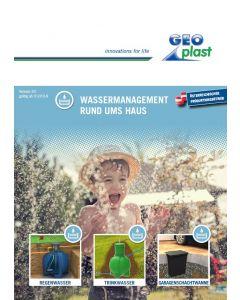 """Preisliste """"Wassermanagement rund ums Haus"""""""
